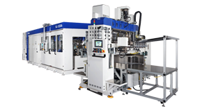 SL-1220A + SL-520 Thermoforming Production Line